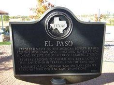 ~ El Paso Marker ~