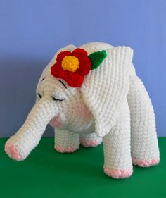 Elly The Baby Elephant - Thank you Sue Pendleton! Free Pattern