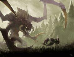 Cho'Gath hunting Nocturne