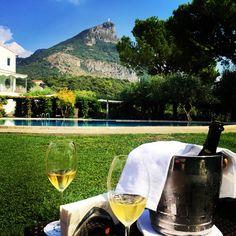 Dom Perignon champagne luxury Santavenere Hotel Maratea Basilicata Italy