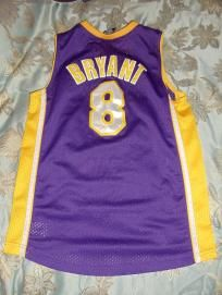 EXCELLENT KOBE BRYANT LA LAKERS NIKE BASKETBALL YOUTH JERSEY SZ MEDIUM M La  Lakers 1f9d5f010