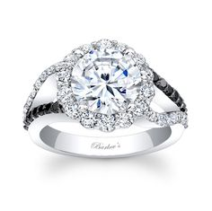Barkev's black n white ring