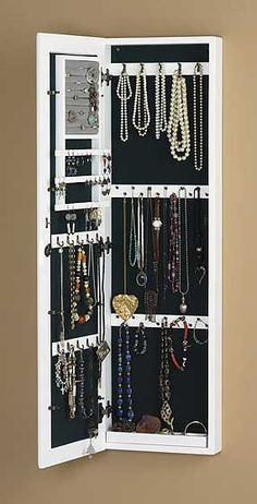 Hanging Necklace Storage   Google Search