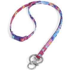 Vera Bradley Breakaway Lanyard in Impressionista ($16) ❤ liked on Polyvore featuring accessories, back to school, ids and lanyards, impressionista and vera bradley