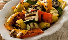 Grilled Summer Veggies - to grill on the George Foreman