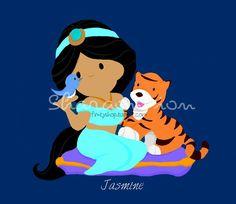 Disney Princess Jasmine Doll | Jasmine+by+Watchiesaurus.deviantart.com+on+@deviantART