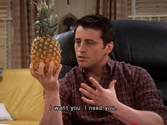 You have to be healthy sometimes. | Community Post: 15 Lessons About Food That We Learned From Joey Tribbiani