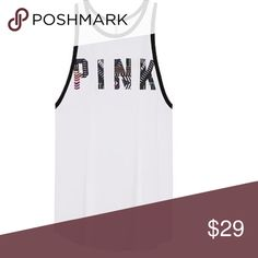 VS PINK Super Soft High Neck Tank ✨NWT✨ Truly very soft, w/ drop arm holes.  Price is firm (at break even) - I can return it for the same.  🚫No Trades❗️ PINK Victoria's Secret Tops Tank Tops