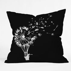 Budi Kwan Going Where The Wind Blows Throw Pillow | DENY Designs Home Accessories