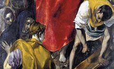 El_Expolio_del_Greco_Catedral_de_Toledo_detalle
