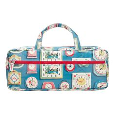 Just In | Clocks Oilcloth Knitting Bag | CathKidston