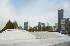 Four Freedoms Park in honor to Franklin D. Roosvelt. New York, 1973-2013. Arch. Louis Kahn. Photo Paul Warchol.