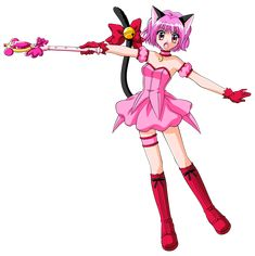 Made another transparent Mew Ichigo pic. This image came from the children's book. As usual for these, anyone's welcomed to use this for whatever editing projects you want. You can view and save the image in full resolution HERE. Inuyasha Anime, Tokyo Mew Mew Ichigo, Old Anime, Cosplay, Manga, Magical Girl, Kawaii Anime, Cute Art, Just In Case
