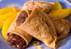Crêpe à la confiture de banane et chocolatVoir la recette des crêpes à la confiture de banane et au chocolat