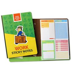 Sticky memo notes book on my desk - work, (http://www.fallindesign.com/sticky-memo-notes-book-on-my-desk-work/)
