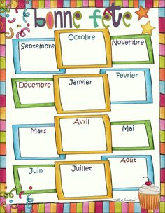 Planning and parties Classroom Organization, Classroom Management, Classroom Setup, Kids Planner, Core French, Secondary Teacher, Teachers Corner, French Classroom, French Resources