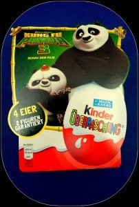 Kung Fu Panda 3 merchandise - Kinder Egg