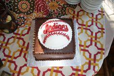 Baseball cake    Flour Power Cafe & Bakery San Antonio