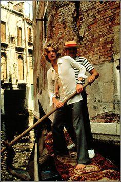 """Bjorn Andrésen. Foto pubblicitaria per """"Morte a Venezia"""", 1971."""