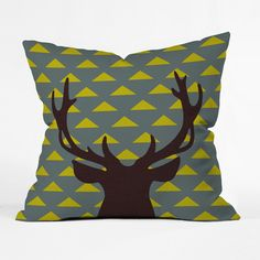 Great Outdoors Throw Pillow | dotandbo.com