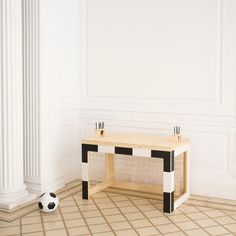 Jan table - perfect for sport lovers!