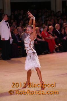 Yulia Zagoruychenko - Professional Latin Championship  Blackpool 2013