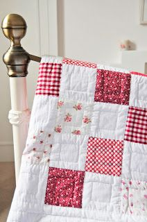 My Old Checkerboard Quilt | Helen Philipps | Bloglovin'
