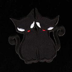 Patch -Black cats Kangasmerkki