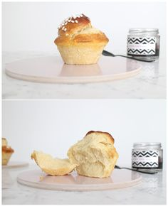 Rezept Butter Brioches in Muffin Formen