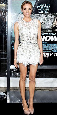 Diane Kruger -  Dolce & Gabbana minidress - Unknown L.A. Premiere [Credit: Jon Kopaloff/FilmMagic]