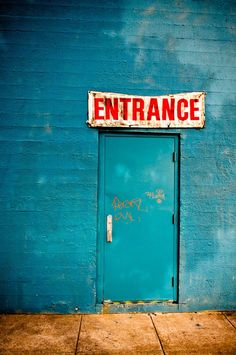 Editor Mat Sanders of DOMAINE likes Blue Entrance by Allen Passalaqua on PurePhoto.com