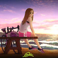 Martha Art by: Alex Tercero (Me) 2018 Paz Interior, My Escape, Disney Characters, Fictional Characters, Aurora Sleeping Beauty, Disney Princess, Artwork, Work Of Art, Disney Princes