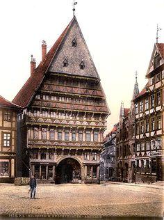 Butcher's Guild Hall, Hildesheim Germany