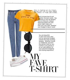 """""""90s"""" by petranaulicna on Polyvore featuring Vetements, Miss Selfridge and Converse"""