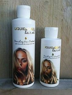 Nourishing Hair Treatment Coconut Oil Argan Oil Shea Oil Liquid Gold Hair Oil