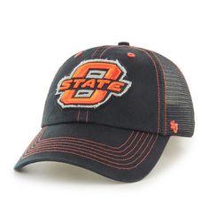 2747920abc001 Oklahoma State Cowboys  47 Brand Flexbone Closer Flex Hat - Black