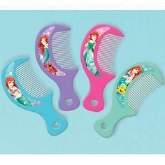 The Little Mermaid Favor Combs | 12 ct