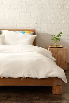 "mt duvet set queen in ""milk waffle"""