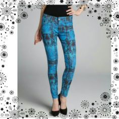 "Spotted while shopping on Poshmark: ""Printed Stretch Skinnies""! #poshmark #fashion #shopping #style #Denim"