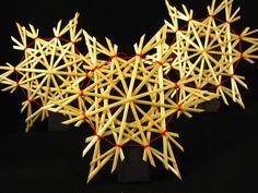 """""""tout simplement"""" set de 6 étoiles traditionnelles en paille (1125) : Accessoires de maison par les-brillantes-montagnes"""
