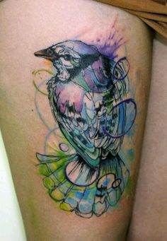LOVE the colors. Except replace the bird with the Turks and Caicos islands. :)