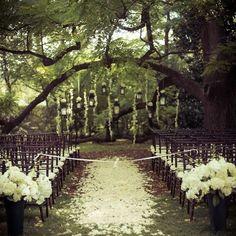 Свадьба в стиле Woodland