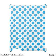 Blue Polka Dots Tablet Case  Available on many products! Hit the 'available on' tab near the product description to see them all! Thanks for looking!  #art #polka #dots #shop #iphone #case #phone #electronic #accessory #accessories #fashion #style #women #men #shopping #buy #sale #gift #idea #samsung #galaxy #apple #mac #ipad #tablet #computer #lifestyle #fun #sweet #cool #neat #modern #chic #laptop #sleeve #blue #white