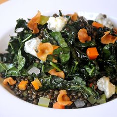 Best Kale Dishes in the US: The General Muir in Atlanta - Love this restaurant. I have to get this next time. Kale Dishes, Vegetable Dishes, Atlanta Restaurants, Great Restaurants, Lentil Salad, Kale Salad, Kale Pizza, Wine Recipes, Cooking Recipes