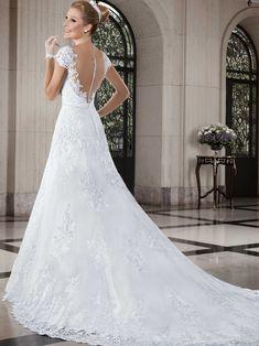 Vestidos de noiva - Coleção Callas (22) Costas