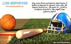 Basic sports in Spanish - Los deportes