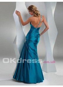 Floor-Length Dropped Sleeveless Long Formal Maxi 2014 Mermaid Prom Dresses