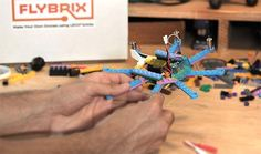 Flybrix Kits come complete with all the components you need to make and fly rebuildable, crash-friendly quadcopters, hexacopters and octocopters from one kit. F