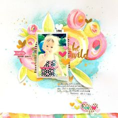 Bella Blvd CT - Make Your Mark collection; Shimmerz Paints, Heidi Swapp Color Shine