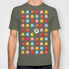 Pac-Man Trapped T-shirt by Psocy Shop - $18.00